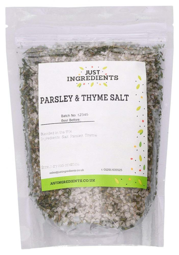 JustIngredients Parsley and Thyme Salt 250g