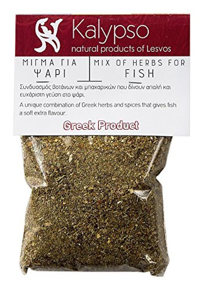 SALE  Kalypso Mix of Greek Herbs for Fish 80g