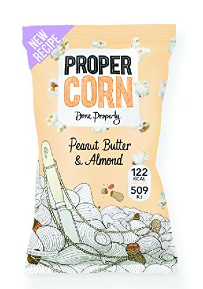 Propercorn Peanut Butter and Almond 25g
