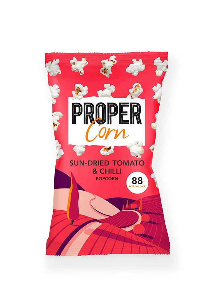 Propercorn Sun-dried Tomato and Chilli Popcorn 20g