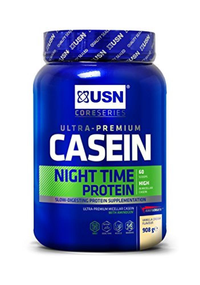 USN Casein Night Time Protein Vanilla 908g