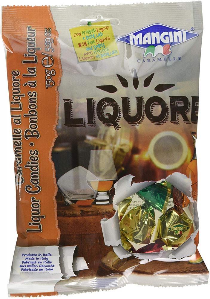 Mangini Liquor Traditional Candies 150g