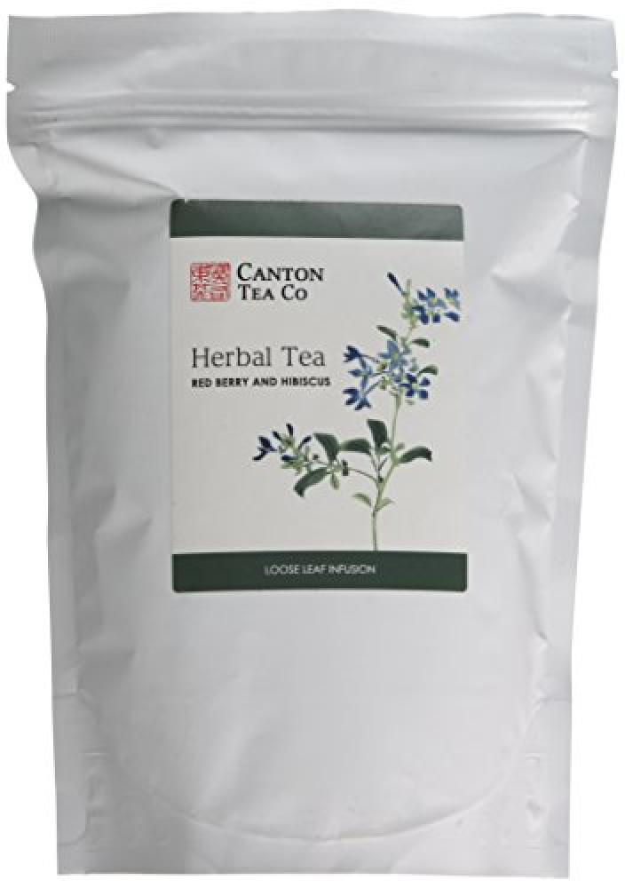 Canton Tea Co Herbal Tea Red Berry And Hibiscus 250g Approved Food
