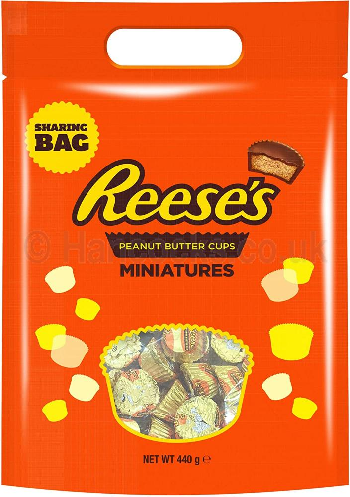 SALE  Reeses Peanut Butter Cups Miniatures 400g
