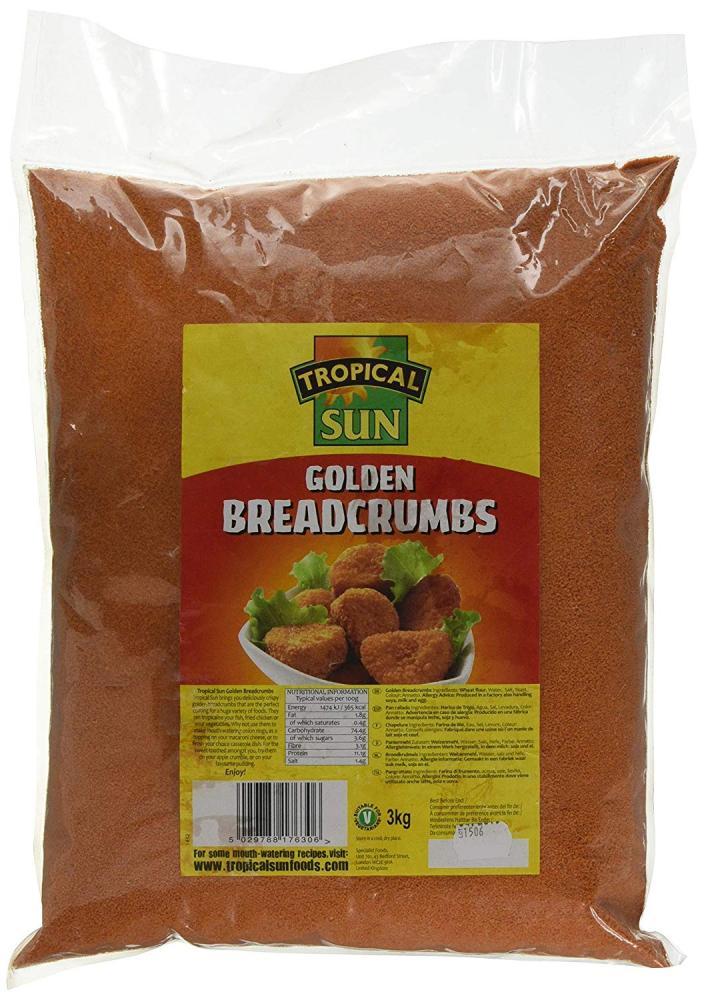 Tropical Sun Golden Breadcrumbs 3kg
