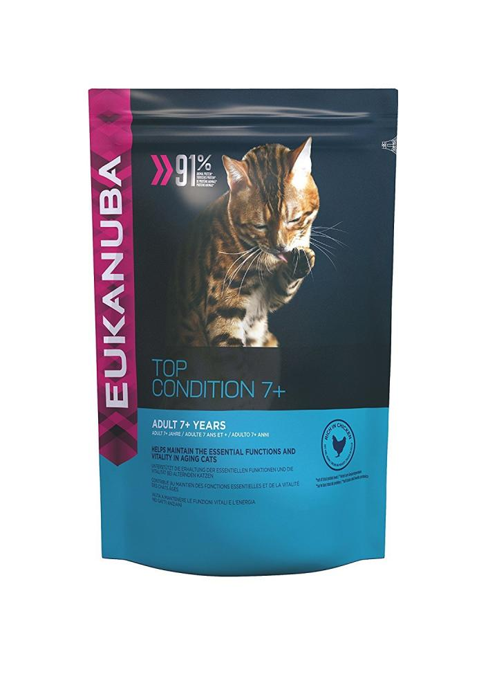 Eukanuba Dry Cat Food Senior Chicken 4kg