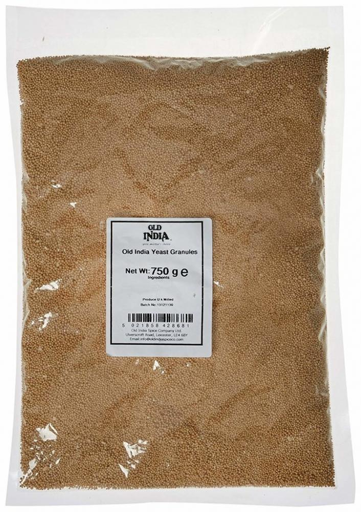Old India Yeast Granules 750g