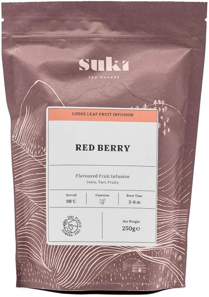 Suki Tea Red Berry Loose Fruit Tea 250g