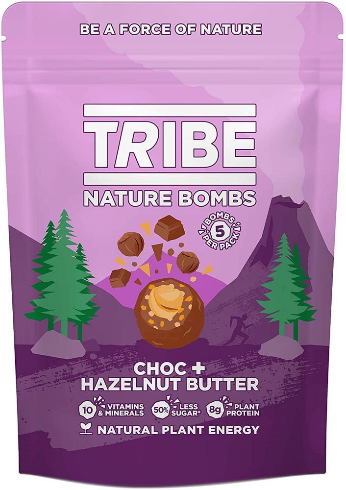 Tribe Protein Balls Choc and Hazelnut Butter 100g
