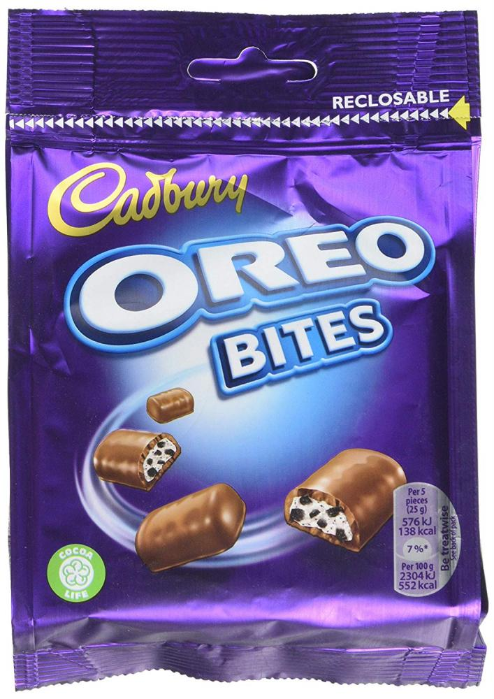 TODAY ONLY  Cadbury Oreo Bites 95g