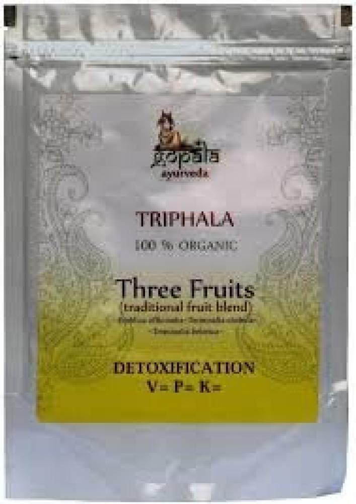 Gopala Organic Triphala Powder Three Fruits Detoxification 250g