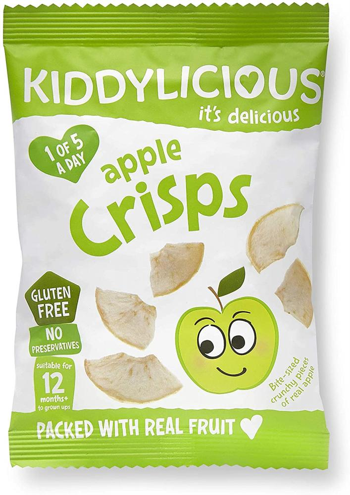 Kiddylicious Apple Crisps 12 g