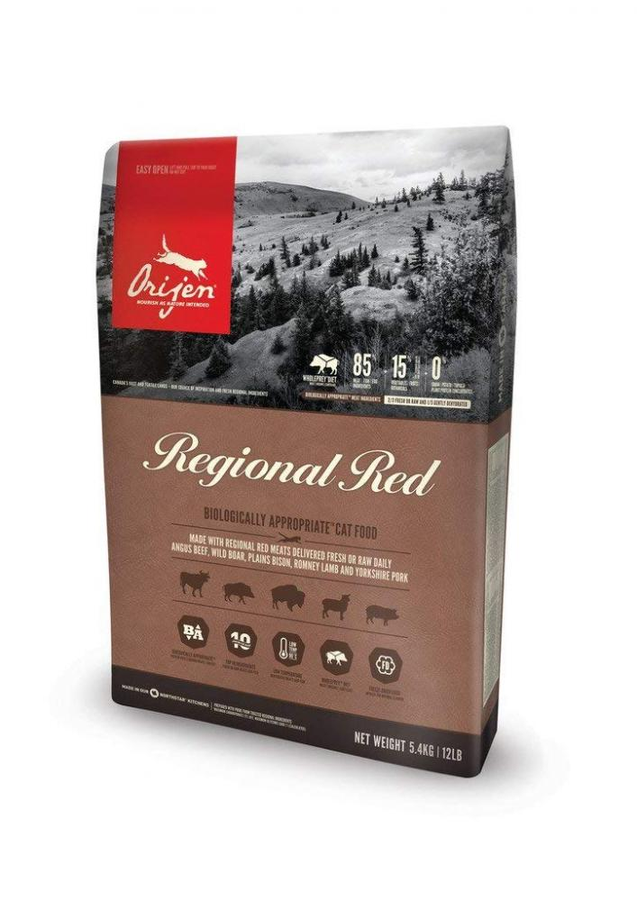 Orijen Regional Red Cat Food 5.4kg