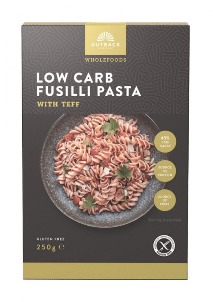 Outback Low Carb Fusilli Pasta 250g