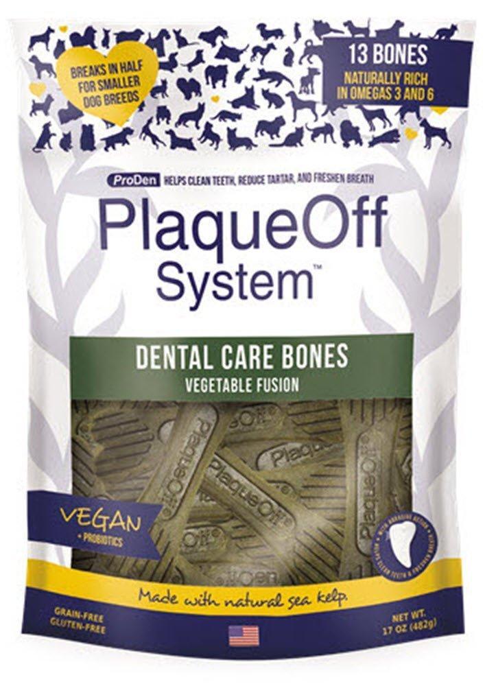 SALE  ProDen Plaque Off Dental Care Bones Vegetable Fusion 485 g