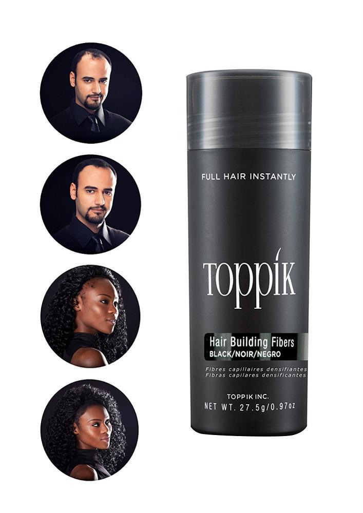 TOPPIK Hair Building Fibers Black 27.5 g