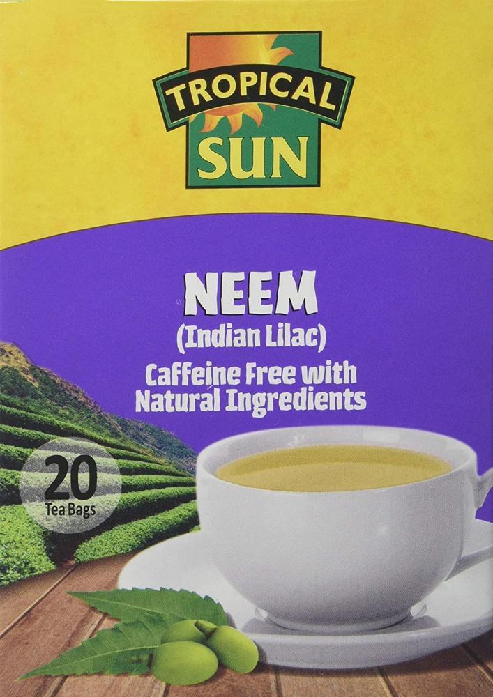 Tropical Sun Sun Neem Teabags 20