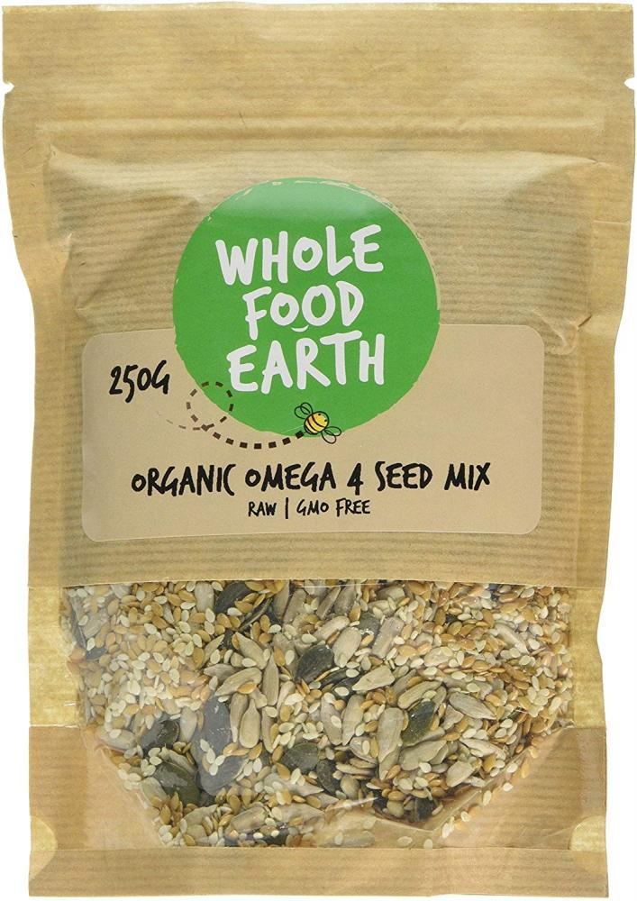 Whole Food Earth Organic Golden Linseed 250g