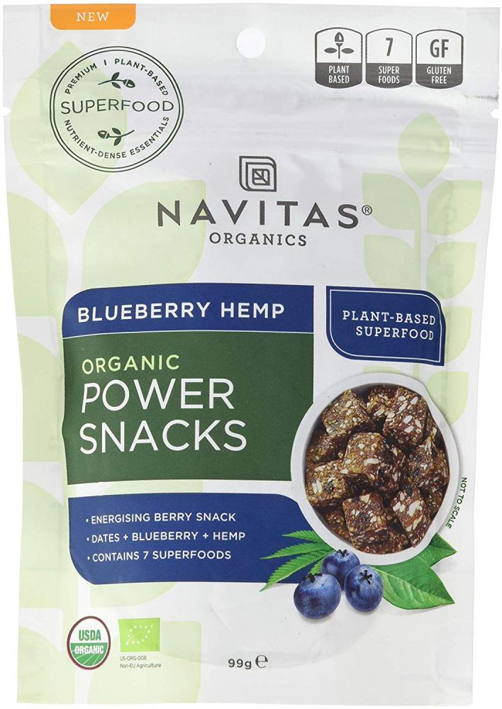 Navitas Organics Power Snacks Blueberry Hemp 113g