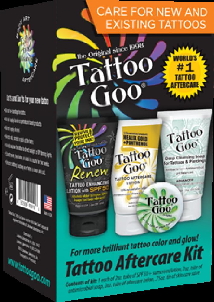 Tattoo Goo Tattoo Aftercare Kit 4 Pieces