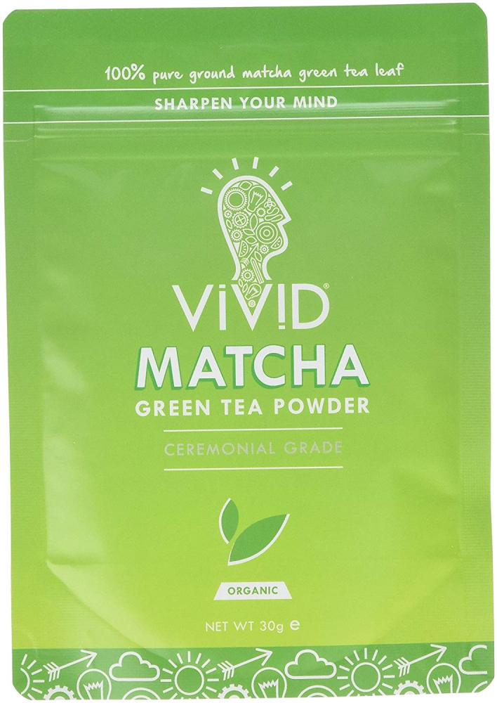 Vivid Organic Ceremonial Matcha Green Tea Powder 30g