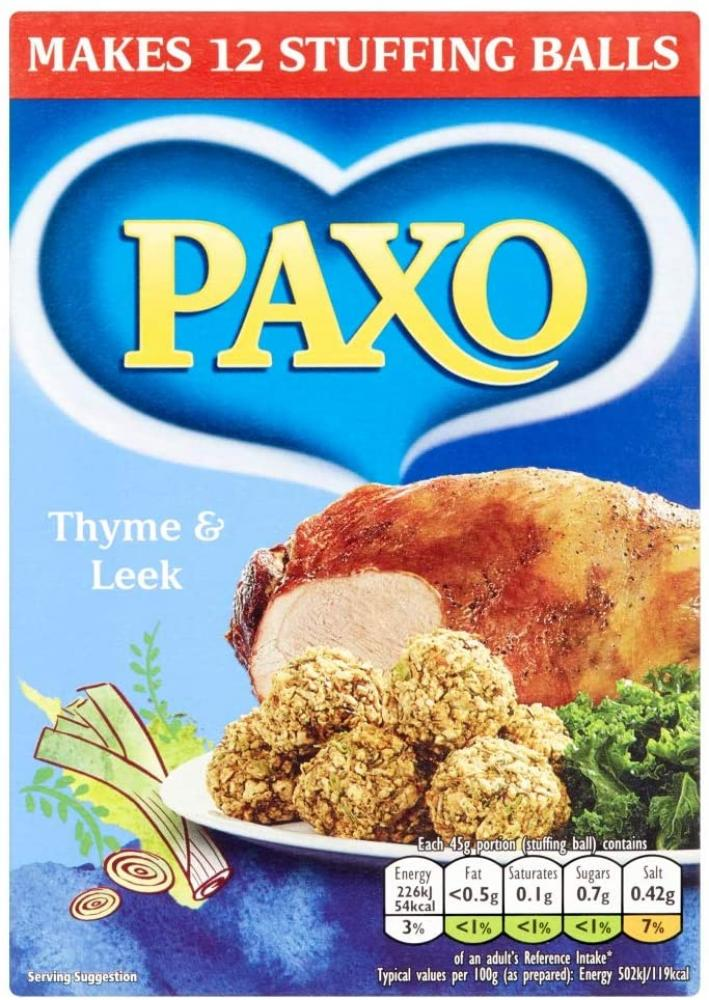 Paxo Thyme and Leek 170g