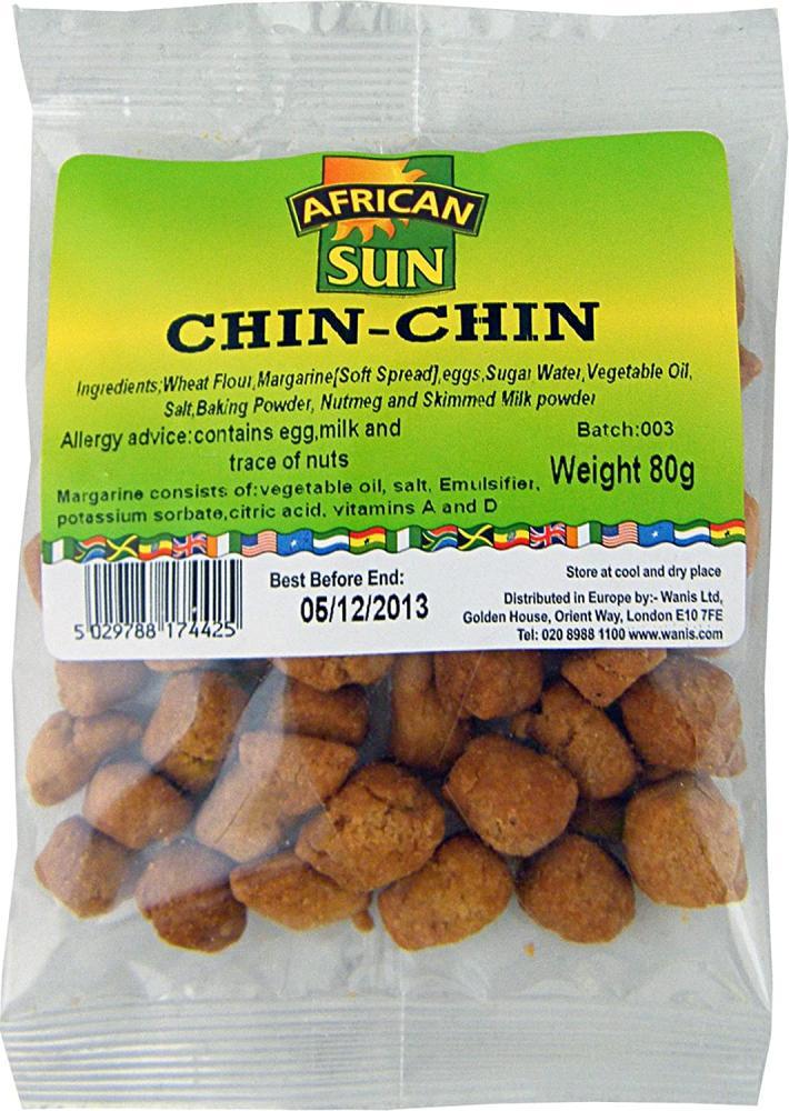 African Sun Chin Chin 80g