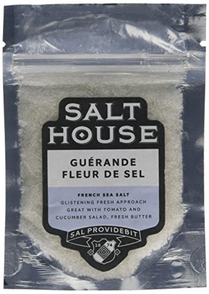 Le Paludier Fleur de Sel French Sea Salt in Pouch 60 g