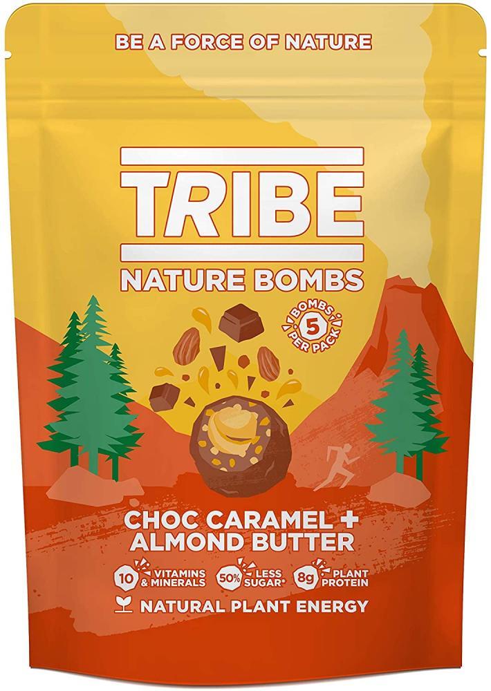 Tribe Protein Balls Choc Caramel Almond Butter Sharing Bag 100g
