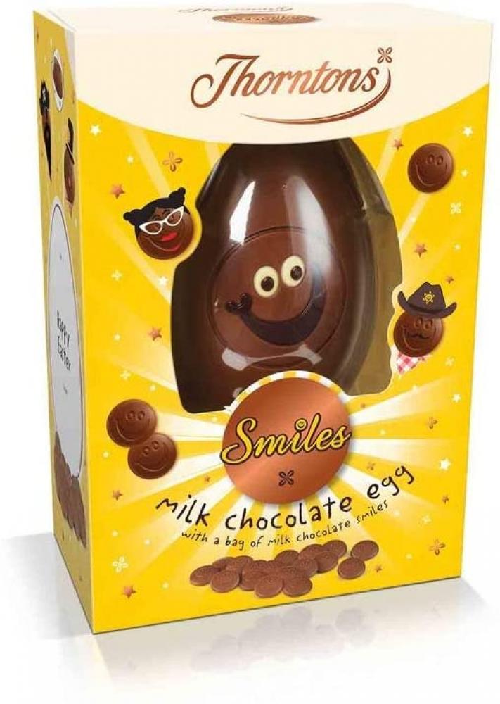 Thorntons Smiles Milk Chocolate Easter Egg 217g