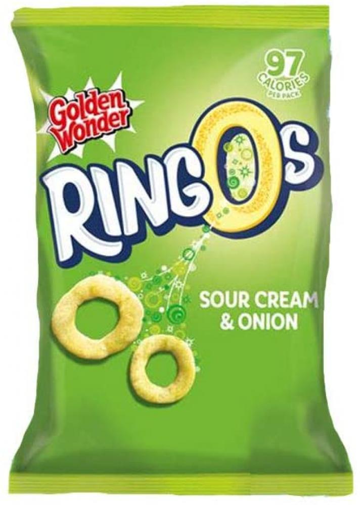 Golden Wonder Ringos Sour Cream and Onion 55g