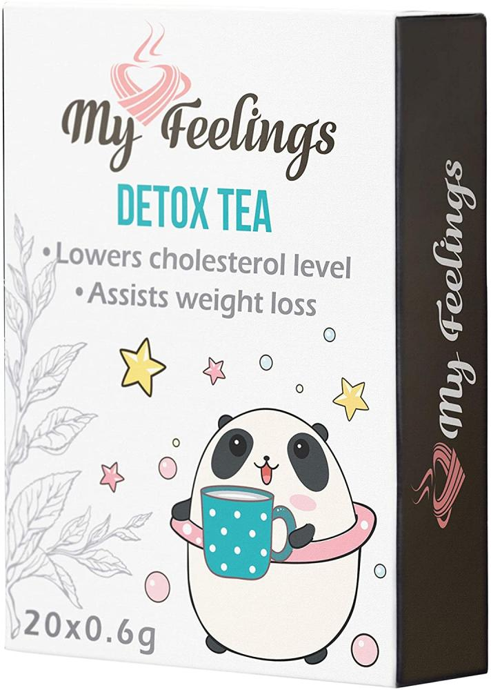My Feelings Detox Tea Extract Powder 20x0.6g