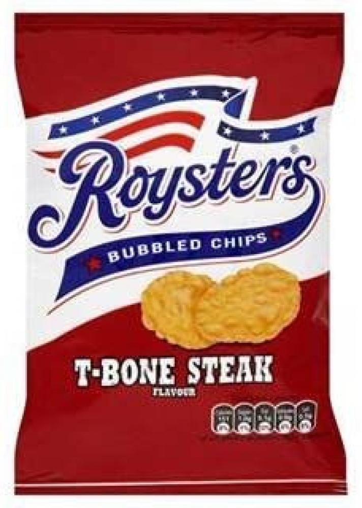 Roysters Bubbled Chips T-bone Steak Flavour 21g