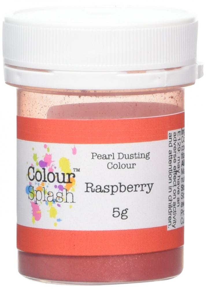 Colour Splash Raspberry Edible Pearl Finish Dust 5g