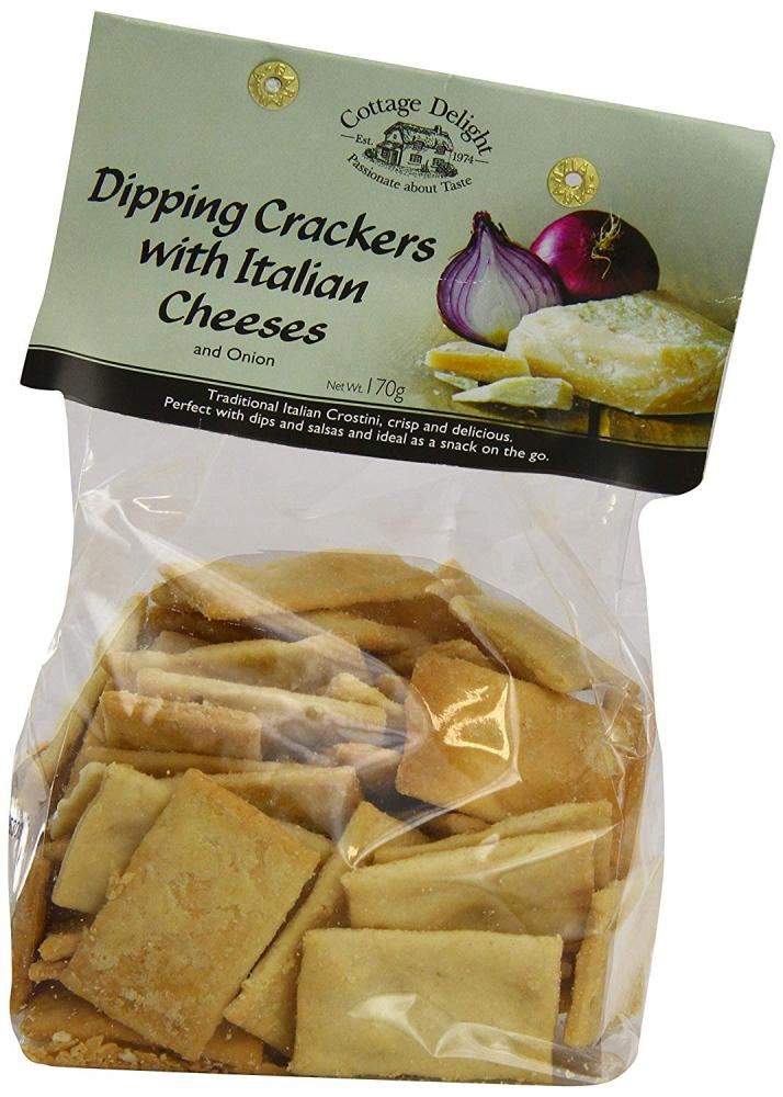 Cottage Delight Dipping Crackers with Italian Cheeses and Onion 170g