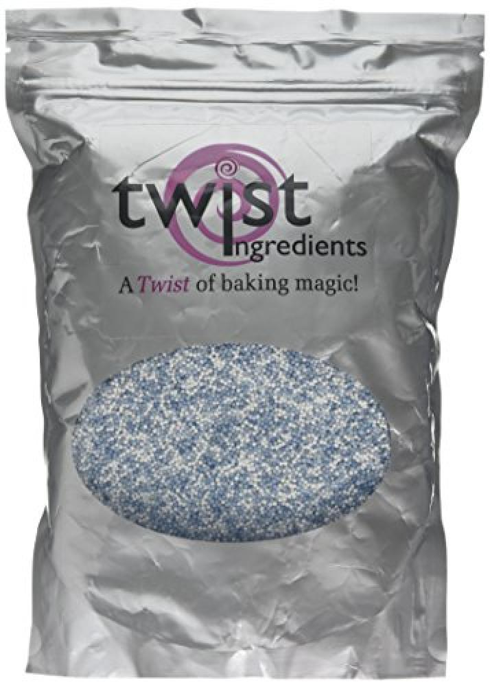 Twist Ingredients Blue and White Hundreds and Thousands 1 kg