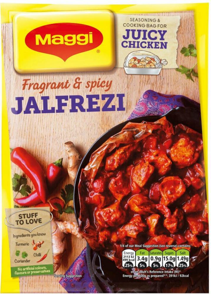 Maggi So Juicy Jalfrezi 46g