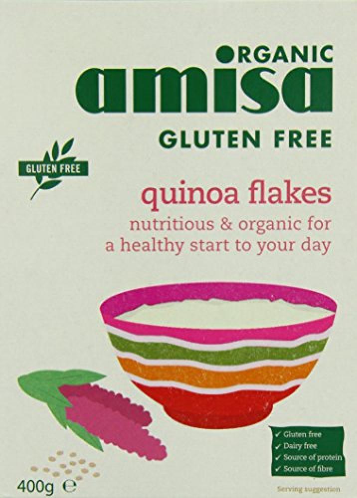 Amisa Organic Gluten Free Quinoa Flakes 400g
