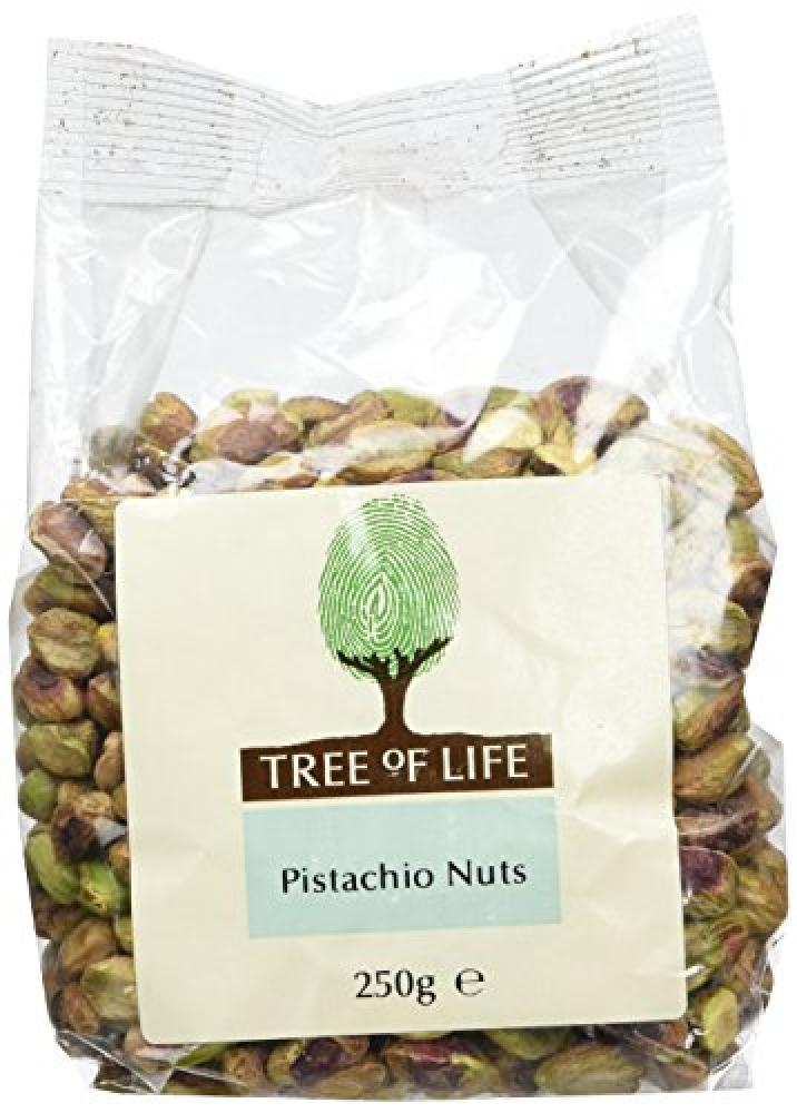 Tree Of Life Raw Pistachios 250 g