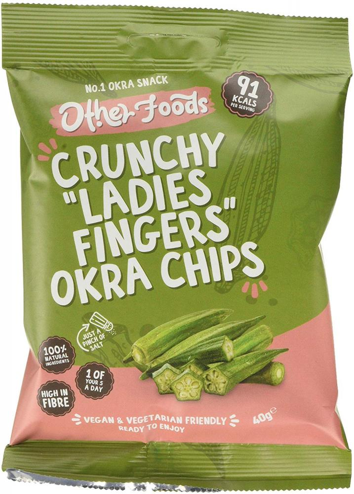 Other Foods Crunchy Ladies Fingers Okra Chips 40 g