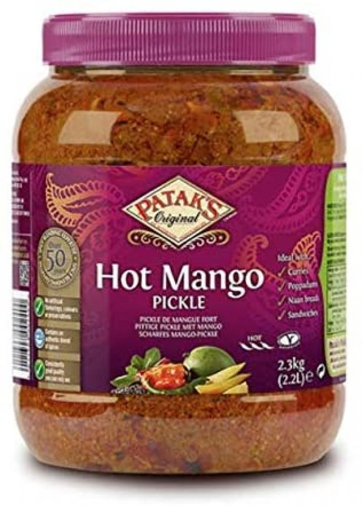 Pataks Hot Mango Pickle 2.3kg