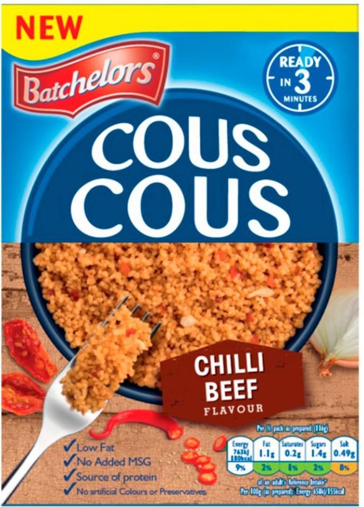 Batchelors Cous Cous Chilli Beef Flavour 90g