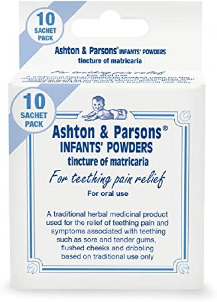 Ashton And Parsons Infant Teething Powder 10 Sachets
