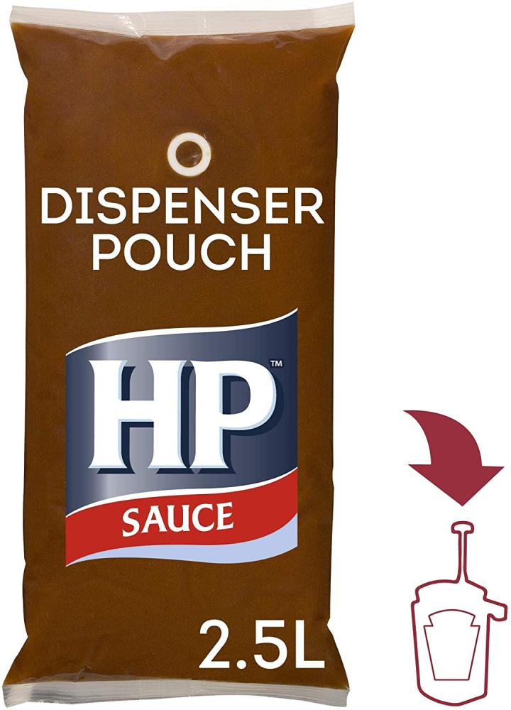 HP Brown sauce Pouch 2.5 Litre