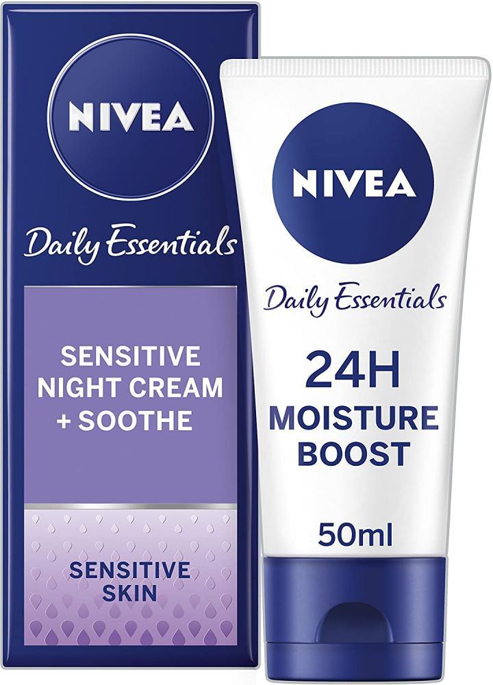 Nivea Daily Essentials Night Cream Sensitive Skin 50 ml