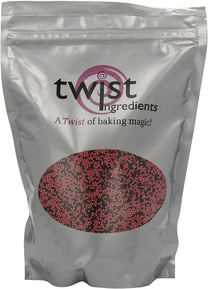 Twist Ingredients Red Menace Pearl Hundreds and Thousands 1kg