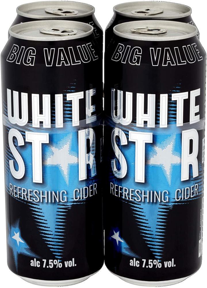 White Star Cider 4 x 500ml