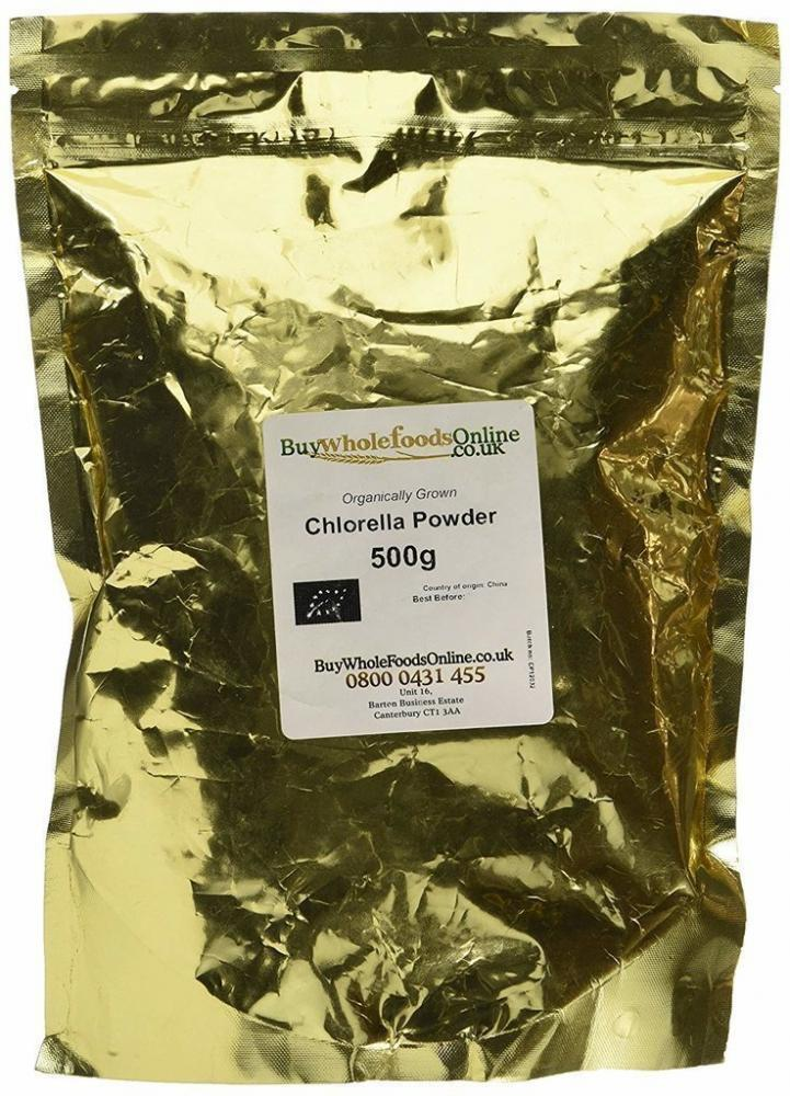 Buy Whole Foods Organic Chlorella Powder 500g