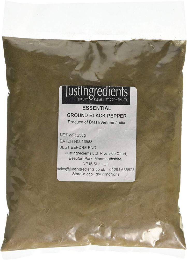 Just Ingredients Ground Black Pepper 250g