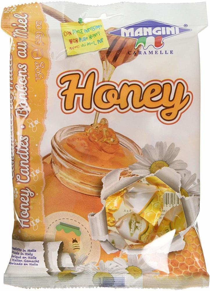 Mangini Honey Candies 150g